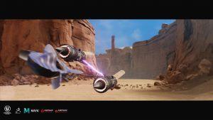 Remake Star Wars Racer - course