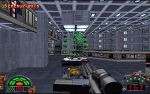 Ecran du jeu original
