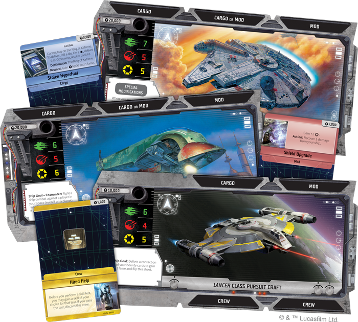 Fantasy Flight Games - Outer Rim