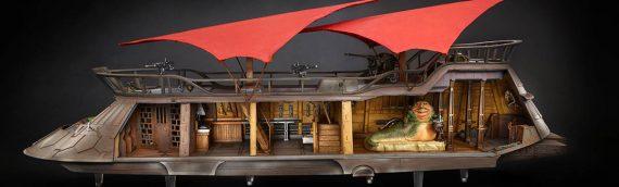 La Barge de Jabba est disponible aujourd'hui, n'oubliez pas !