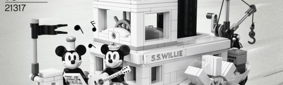 LEGO IDEA – 21317 Steamboat Willie