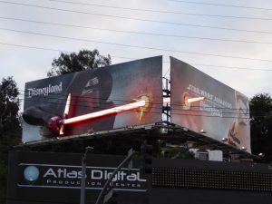 Affiche Disneyland TFA