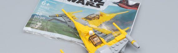 LEGO – Le polybag 30383 Naboo Starfighter offert le 4 mai