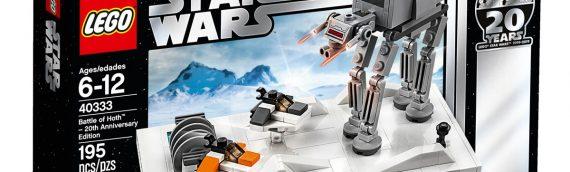 LEGO – Le set LEGO 40333 Battle of Hoth offert pour 75 € d'achat