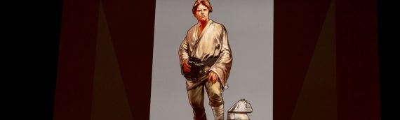 Gentle Giant – Luke Skywalker Collector's Gallery Statue Concept Art