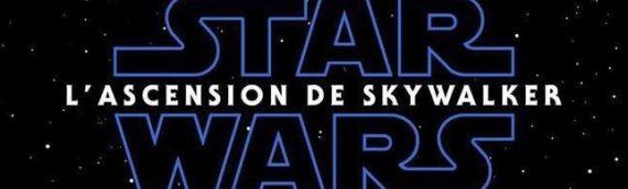 Le titre français sera donc: L'ascension de Skywalker