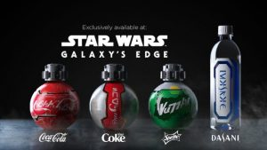 Galaxy's edge Coca-Cola
