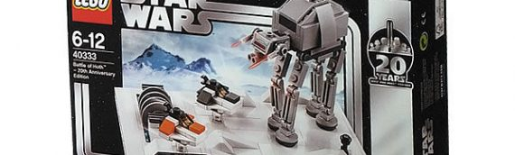 LEGO – Battle of Hoth (20th Anniversary Edition) offert le 4 mai