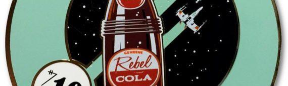 "Dark Ink Art – Collectible Pins set ""Rebel Cola """