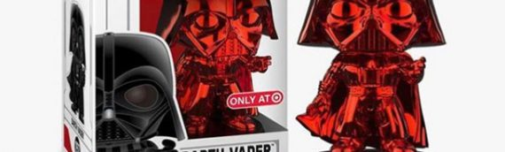 Funko POP – RED Chrome Darth Vader en exclu chez Target