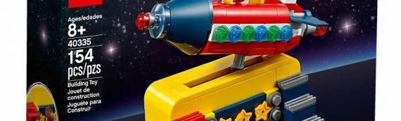 LEGO Ideas – 40335 Space Rocket Ride offert au mois de juin dans les LEGO Stores
