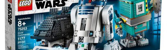 LEGO – 75253 Star Wars Boost Droid Commander : Les images officielles