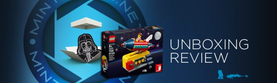 [Mintinbox opens the Box] LEGO Idea 40335 Space Rocket Ride