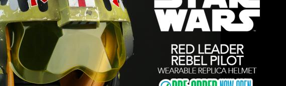 ANOVOS – Red Leader Rebel Pilot Helmet en précommande