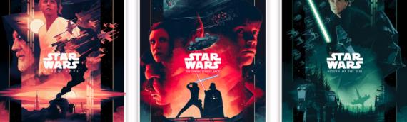 ARTWORK – Star Wars Tryptique par John Guydo