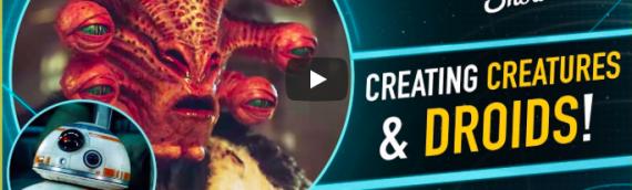 The Star Wars Show – Interview avec Matt Denton designer de BB-8, Aliens et autres