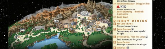 Disney Star Wars Galaxy Edge – Le plan du parc