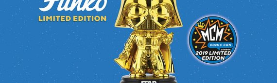 FUNKO – POP Dark Vador Gold en exclu au MCM London Comic Con