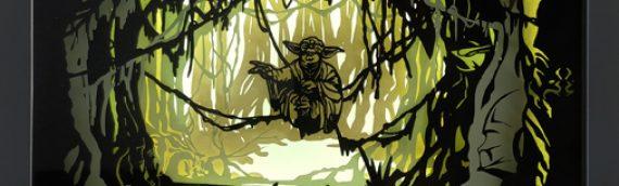 La Yoda ShadowBox de Spencer disponible!