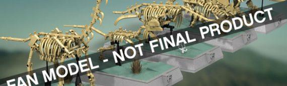 LEGO Idea – Bientôt des squelettes de dino