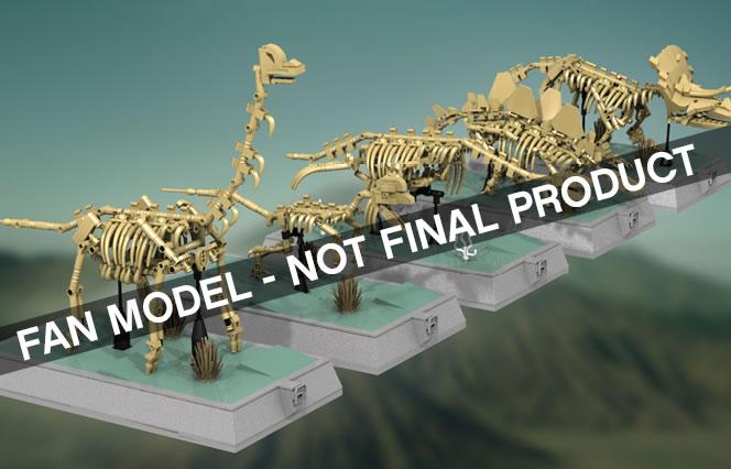 LEGO Idea Dino squelette