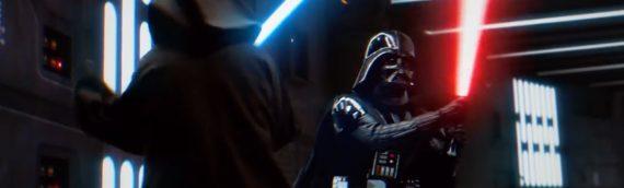 Le duel d'Obi-Wan Kenobi VS Dark Vador comme vous ne l'avez jamais vu