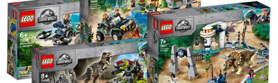 LEGO – Jurassic World Legend of Isla Nublar arrive en juin