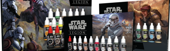Fantasy Flight Game – Des kits de peintures pour STAR WARS LEGION