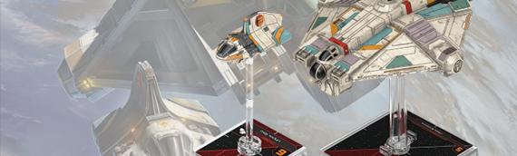 X-Wing Miniature 2.0 – Toutes les annonces sur la nouvelle vague