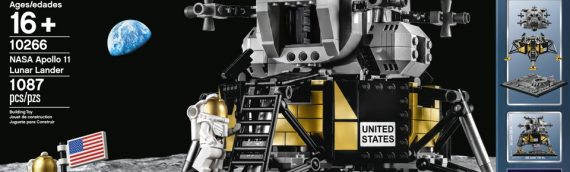 LEGO – 10266 NASA Apollo 11 Lunar Lander