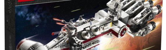 LEGO Star Wars 75244 Tantive IV est disponible