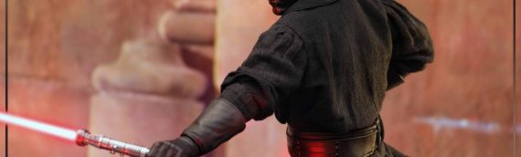 HOT TOYS – Darth Maul with Sith Speeder Sixth Scale Figure en version de production