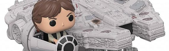 FUNKO POP – Millennium Falcon with Han Solo