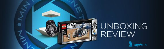 [Mintinbox opens the Box] LEGO Star Wars 752863 Imperial Dropship 20th Anniversary