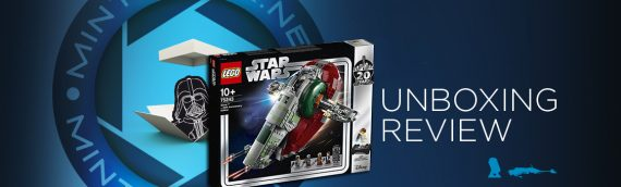 [Mintinbox opens the Box] LEGO Star Wars 75243 Slave I 20th Anniversary