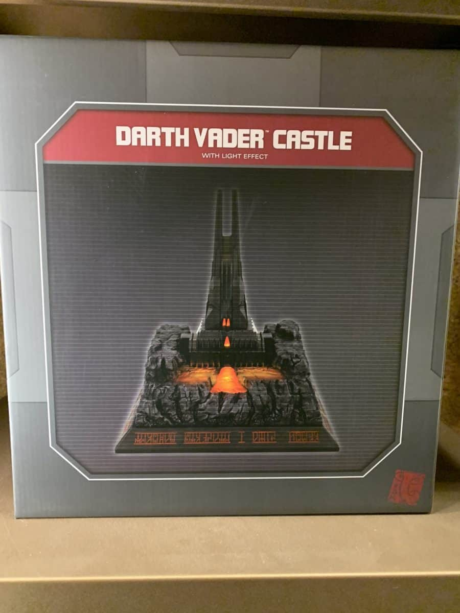Darth Vader Castle Environment Disney Galaxy Edge