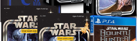 Jeux video star wars collectors Limited Run