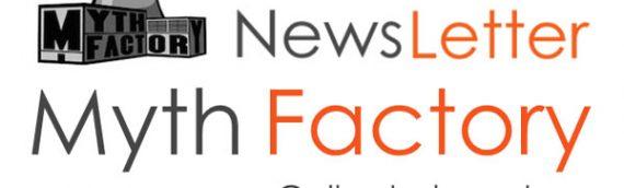 Newsletter Partenaires – Myth Factory Shop