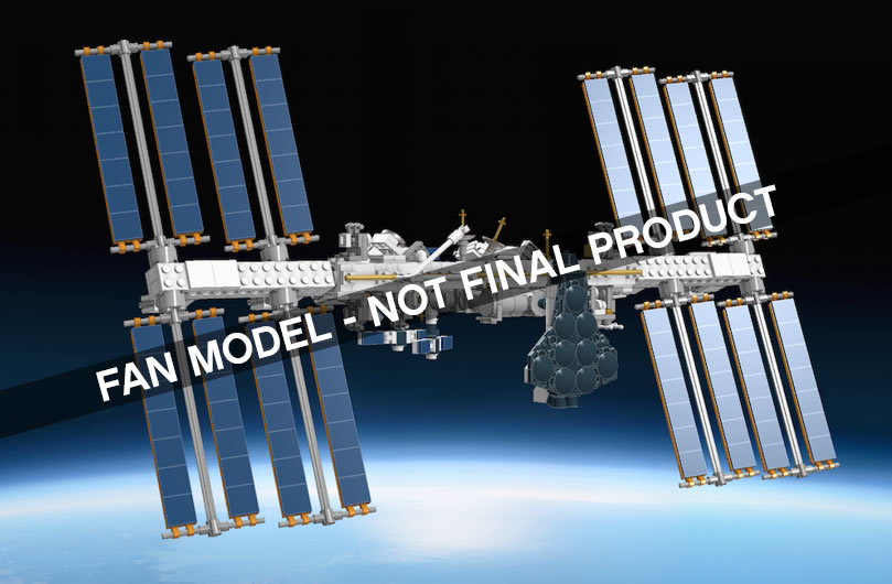 LEGO IDEA ISS Internation space station