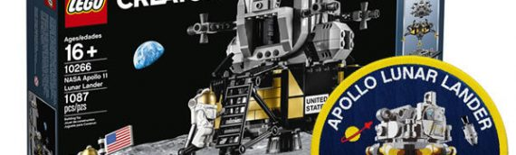 LEGO – 10266 NASA Apollo 11 Lunar Lander est disponbile