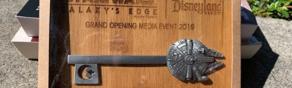 Disney Galaxy Edge – Package Opening Media Event