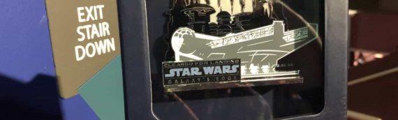 Disney Star Wars Galaxy Edge – Les pins disponible uniquement pour l'opening