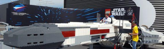 LEGO – Le X-Wing Life-Size débarque au salon du Bourget
