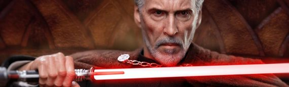 HOT TOYS – Comte Dooku Sixth Scale Figure très bientôt disponible