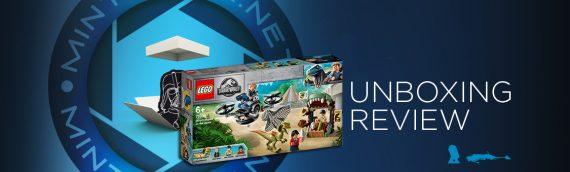 [Mintinbox opens the Box] LEGO Jurrassic World 75934 Dilophosaure en liberté