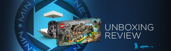 [Mintinbox opens the Box] LEGO Jurrassic World 75038 La bataille du T. rex contre le Dino-Mech