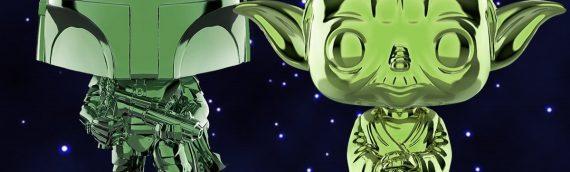 """FUNKO POP – Les deux exclus """"Verte"""" du SDCC sont disponibles en ligne"""