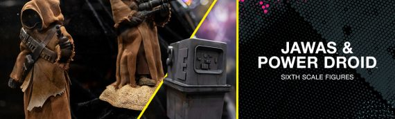 HOT TOYS –  Jawas and Power Droid Sixth Scale Figures