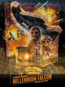 Star Wars Galaxy's Edge Millenium Falcon Smugglers Run