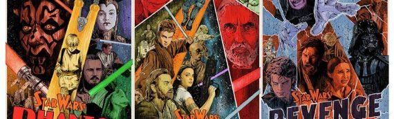"Dark Ink Art – ""SW Prequel Set of Three"" par J.J. Lendl"